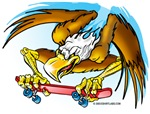 Eagle Skateboarder