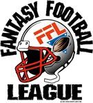 Fantasy Football League Helmet Logo