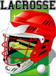 Lacrosse Helmet (Red)
