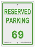 Reserved Parking 69