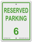 Reserved Parking 6