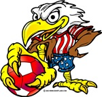USA Soccer Eagle
