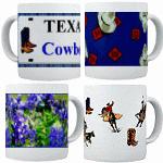 Texas Coffee Cups