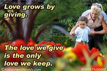 Love Grows by Giving