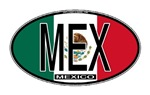 Mexico Oval Colors