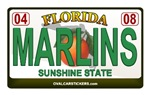 Florida Plate - MARLINS
