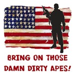 Bring on those damn dirty apes!-USA