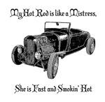 Hot Rod Mistress-Black