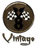 Vintage V8-Flags