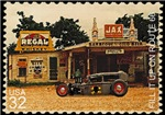 Postage Stamp-Tudor-Gas
