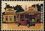 Postage Stamp-Rat truck-Gas