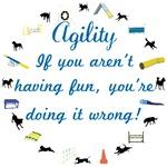 Dog Agility Fun