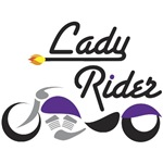 Lady Rider Purple Bike