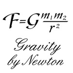Gravity by Newton