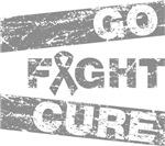 Brain Tumor Go Fight Cure Shirts