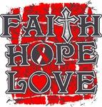 Squamous Cell Carcinoma Faith Hope Love Shirts