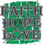 Liver Cancer Faith Hope Love Shirts