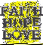 Endometriosis Faith Hope Love Shirts