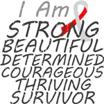 Squamous Cell Carcinoma Strong Survivor Shirts