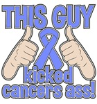 Stomach Cancer This Guy Kicked Cancer Shirts