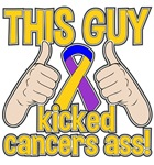 Bladder Cancer This Guy Kicked Cancer Shirts
