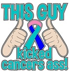 Thyroid Cancer This Guy Kick Cancer Shirts