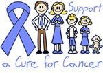 Stomach Cancer Support A Cure Shirts