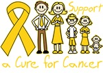 Childhood Cancer Support A Cure Shirts