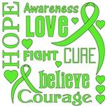 Lyme Disease Hope Words Shirts