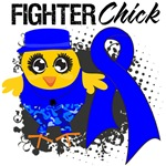 Anal Cancer Fighter Chick Shirts