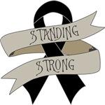 Melanoma Standing Strong Shirts