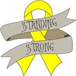Ewings Sarcoma Standing Strong Shirts