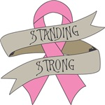Breast Cancer Standing Strong Shirts