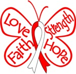 Aplastic Anemia Butterfly Strength Shirts