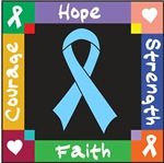 Prostate Cancer Courage Hope Shirts