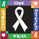 Mesothelioma Cancer Courage Hope Shirts
