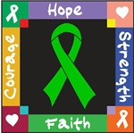 Bile Duct Cancer Courage Hope Shirts