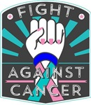 Fight Against Thyroid Cancer Shirts