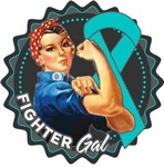Peritoneal Cancer Fighter Gal Shirts