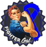Colon Cancer Fighter Gal Shirts