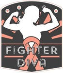 Uterine Cancer Fighter Diva Shirts