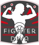 Mesothelioma Fighter Diva Shirts