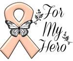 Uterine Cancer For My Hero Shirts