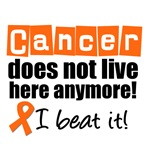 Cancer Doesn't Live Here Anymore Leukemia Shirts