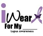 I Wear Purple Ribbon Lupus T-Shirts & Gifts