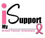 I Support Pink Ribbon T-Shirts & Gifts