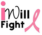 I Will Fight Breast Cancer T-Shirts