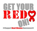 Get Your Red On Heart Disease Shirts & Gifts