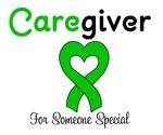 Caregiver Green Ribbon T-Shirts & Gifts