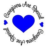 Caregiver Are Special Colon Cancer T-Shirts
